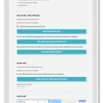 """Infoseite """"Heidelodge Amrum""""/my-amrum.de Website für ein Ferienhaus"""