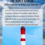 """responsive Startseite auf Handydisplay – """"Heidelodge Amrum""""/my-amrum.de Website für ein Ferienhaus"""